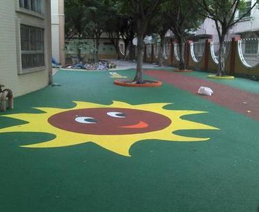 幼儿园塑胶地面