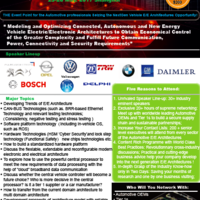 China Automotive E/E Architecture Conference 2017