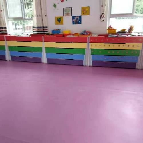 PVC室内运动地板