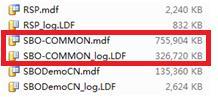 查看数据文件和日志文件的大小