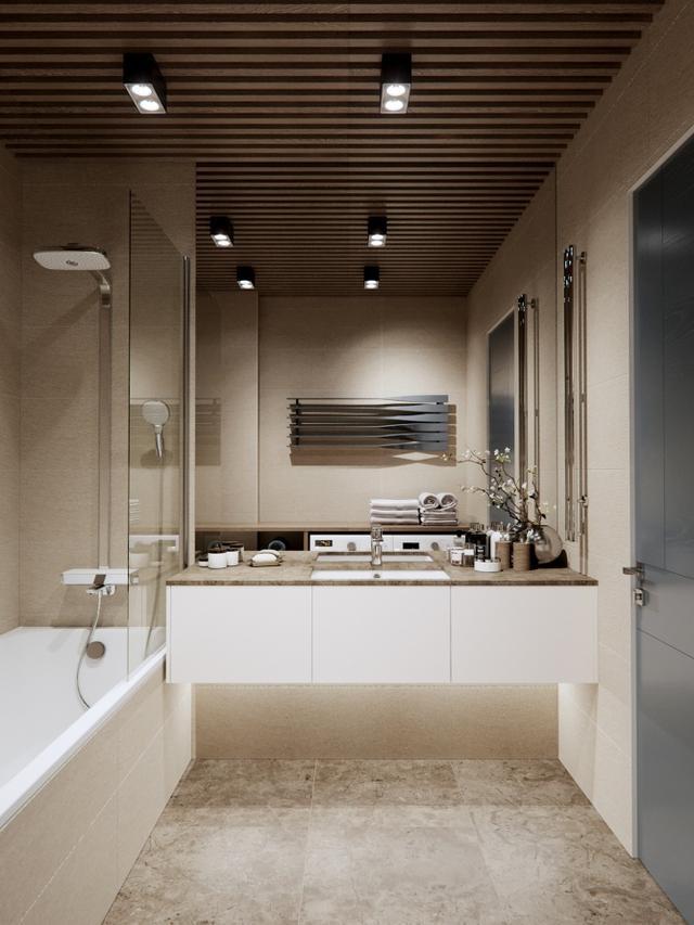 设计赏析:大地色系,温暖与质感的公寓设计