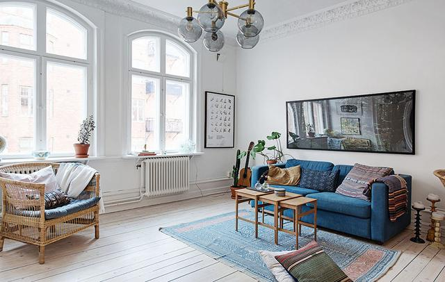 设计赏析:43个北欧风格客厅装修效果图