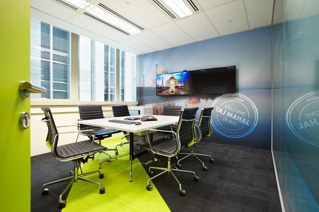 办公空间:***SkyScanner总部办公室