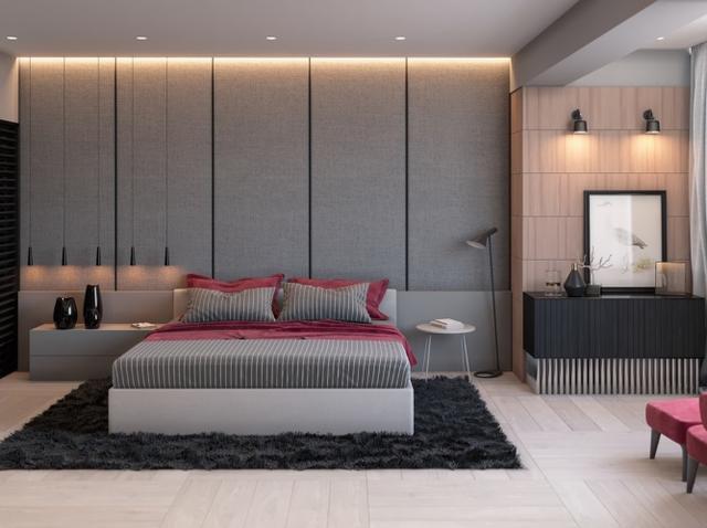 30个设计案例,高雅灰卧室,*懂你的心