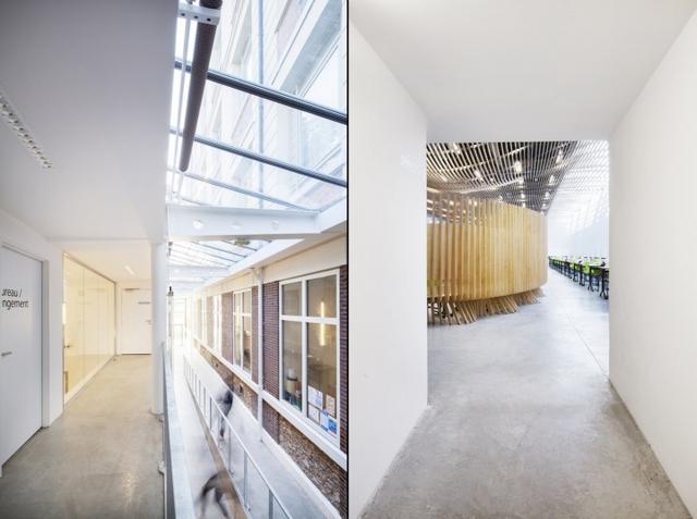 建筑改造:凡尔赛高校自助餐厅翻新