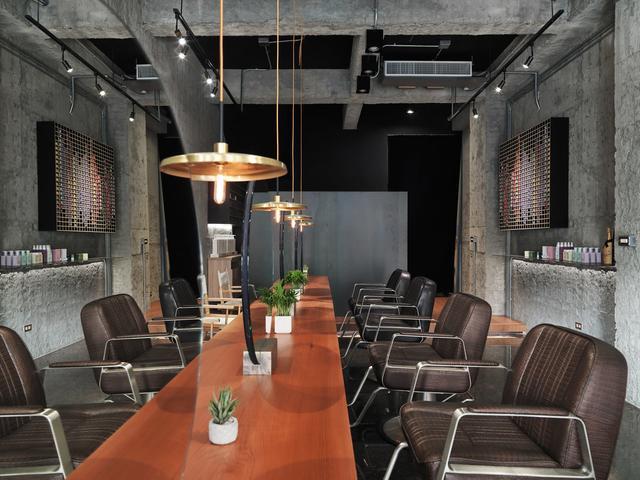 商业空间:台湾LOFT风格美发沙龙