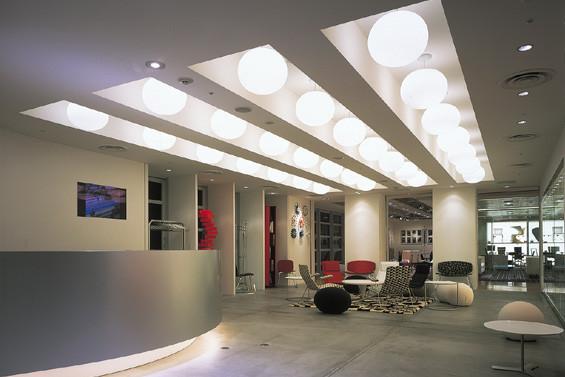 办公室装修灯光布局常见的3大误区