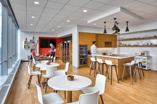 曼哈顿食品设计公司个性办公室