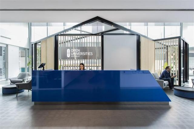 办公空间:墨尔本在线教育公司现代风格办公项目