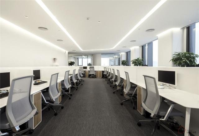 如似例案|流畅的线条和简单的空间布局交织——广州BWM办公室