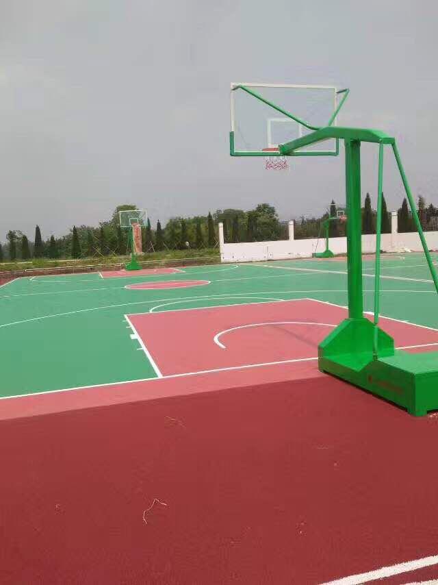 安徽马鞍山硅PU篮球场