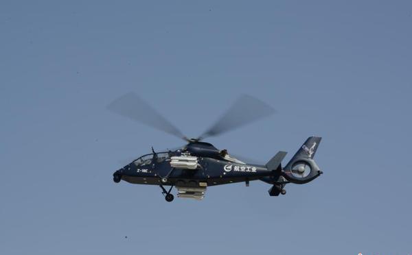 中国造直19E直升机首飞成功