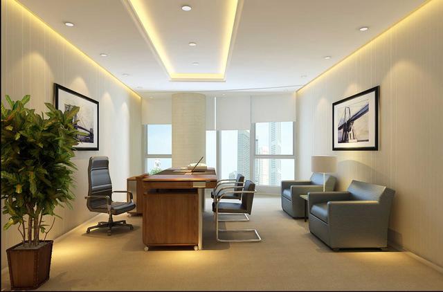 简约风格办公室装修设计原则是什么?