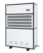 Air-cooled thermostat dehumidifier