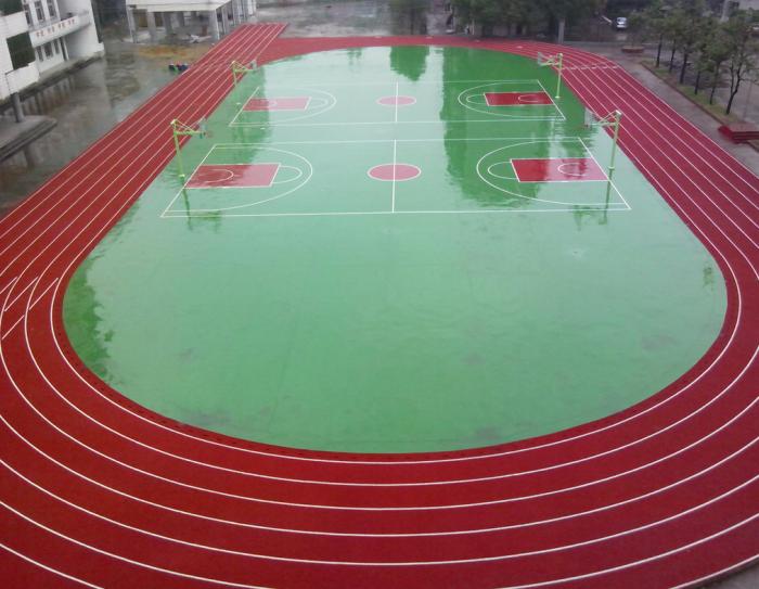 300米塑胶跑道划线方法