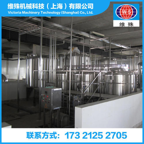 Lactic acid bacteria beverage production line