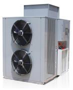 Top-blown heat pump dryer