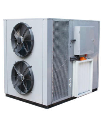 Application of air energy dryer in drying lily