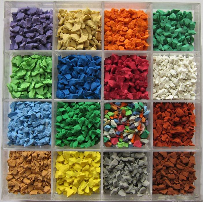 EPDM彩色颗粒的优点