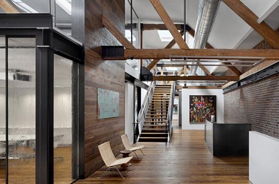 Tolleson办公室装修-前台处图