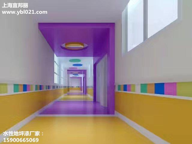 学校走廊水性地坪