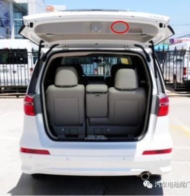 雷克萨斯NX200改电动举升门  电动尾门  上海蓝精灵改灯