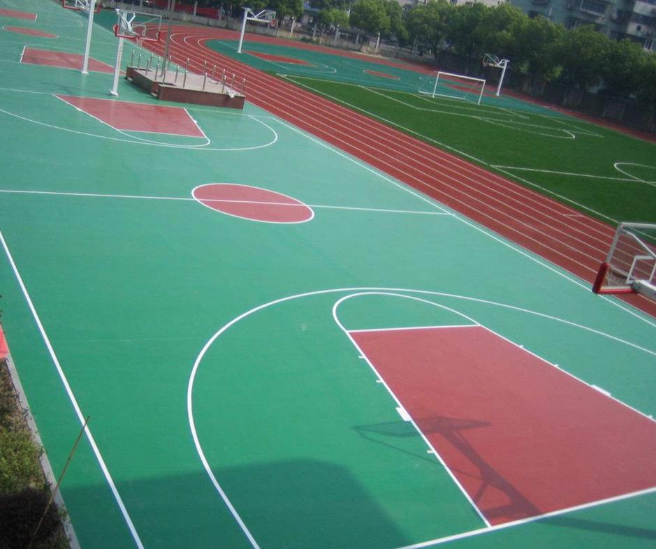 硅PU球场和丙烯酸球场材料的区别