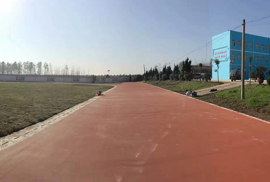 淮南丙烯酸跑道施工案例