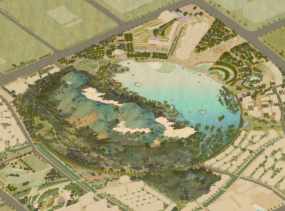 001-WINNING PROPOSAL FOR LION MOUNTAIN Park, Suzhou by TLS