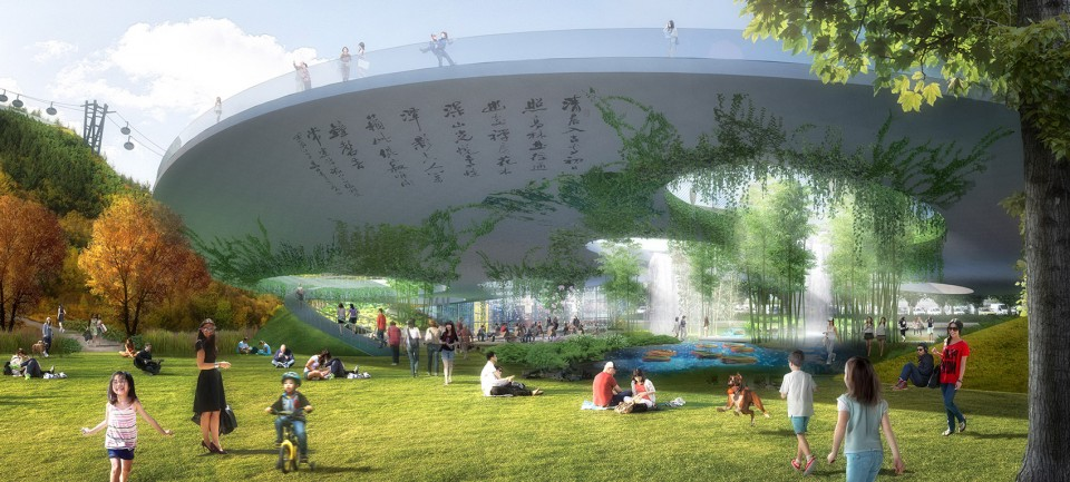 015-WINNING PROPOSAL FOR LION MOUNTAIN Park, Suzhou by TLS