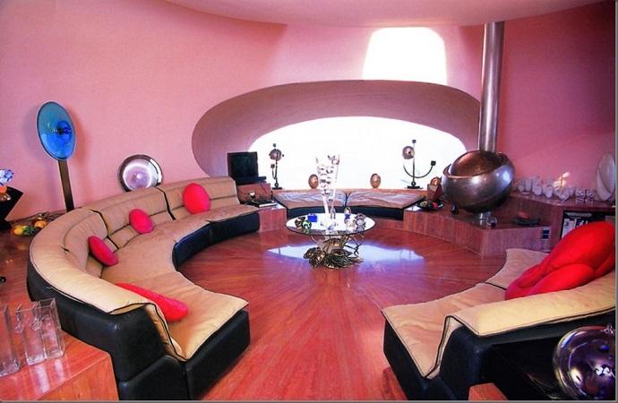 皮埃尔·卡丹的泡泡屋由Antti Lovag designrulz--(2)