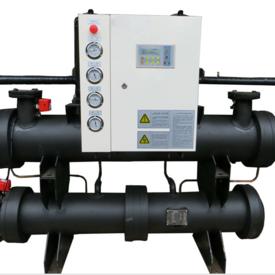 谷轮涡轮双机头水源热泵机组