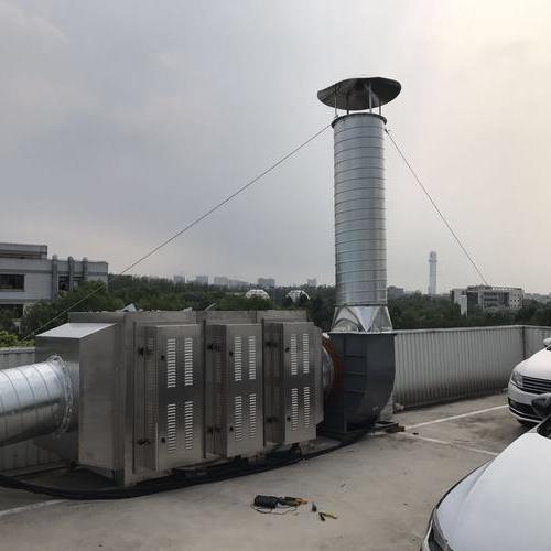 青浦大众4s店 喷漆房废气项目