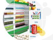 超市风幕柜水果保鲜柜展示柜冷藏立式饮料柜