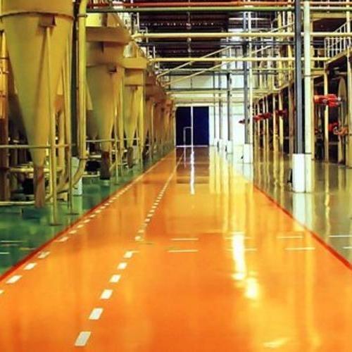 高耐磨水性哑光聚氨酯地坪