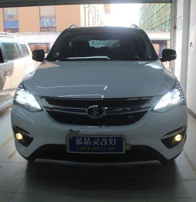 上海比亚迪宋车灯改装智能米石LED透镜