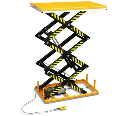 三剪式电动升降平台