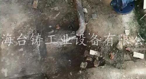 上海台铸阀门客户现场t312t