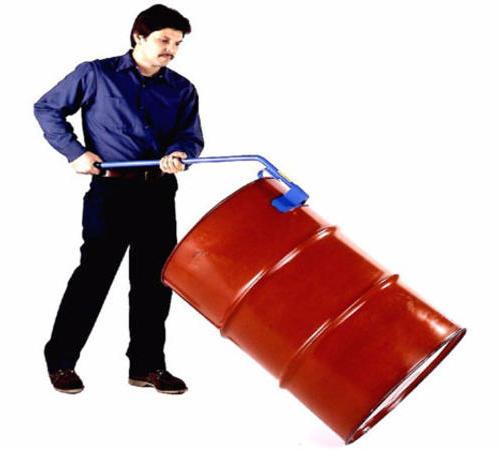 机械式油桶扶起器