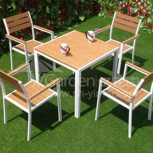 J06-013(塑木桌椅)