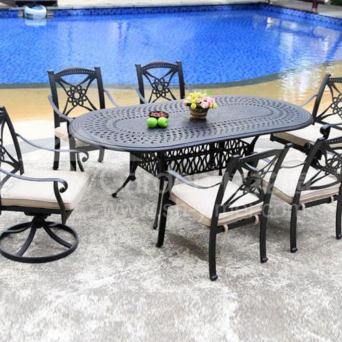 J04-019(1+6铸铝桌椅)