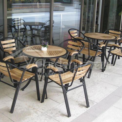 J06-017(塑木桌椅)