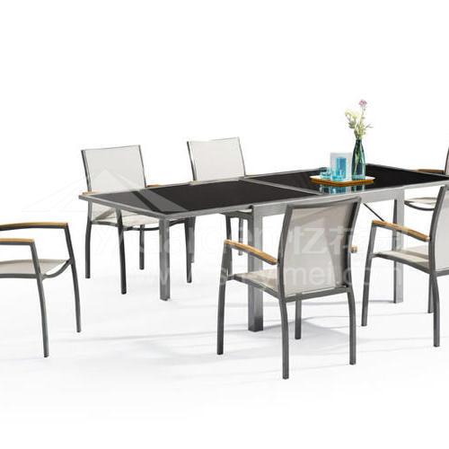 J07-015(网布桌椅)