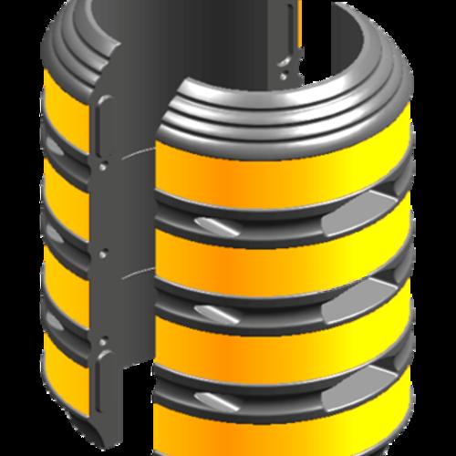 预制式电杆警示防护装置