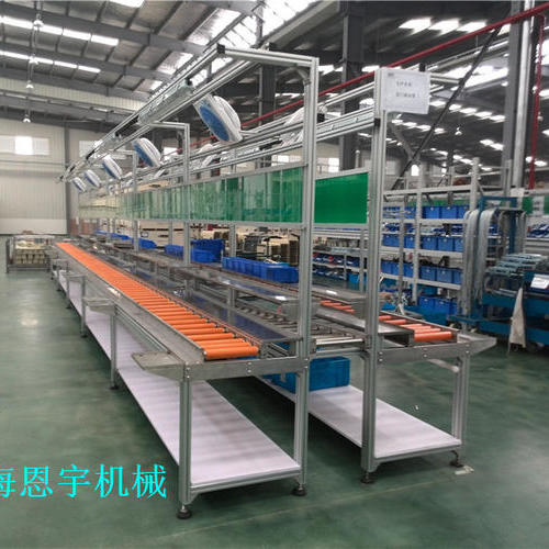 ENYU-F-1电梯行业零部件生产线