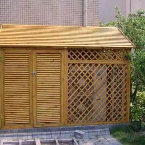 防腐木现已成为室内外装修新型材料