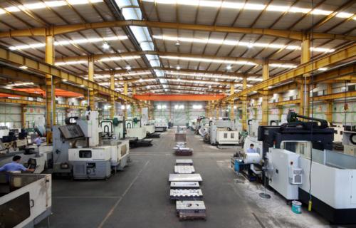 Company plant (inside)