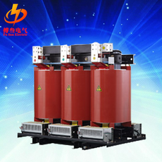 Cast (10) epoxy dry type power transformer