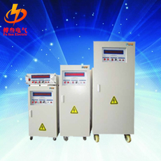 Three phase variable frequency power supply
