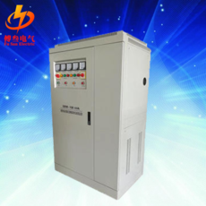 Three phase voltage regulator